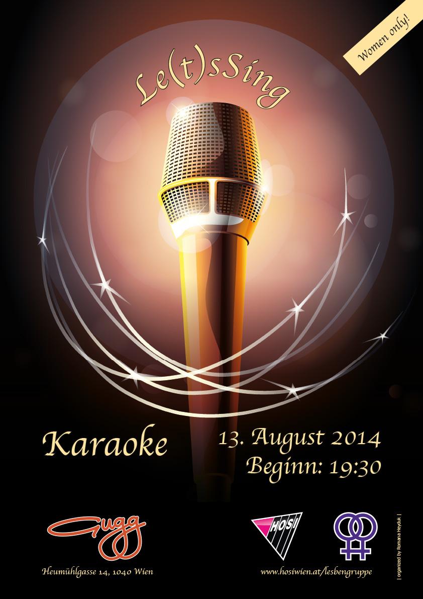 LetsSing Karaokeabend für Frauen August 2014