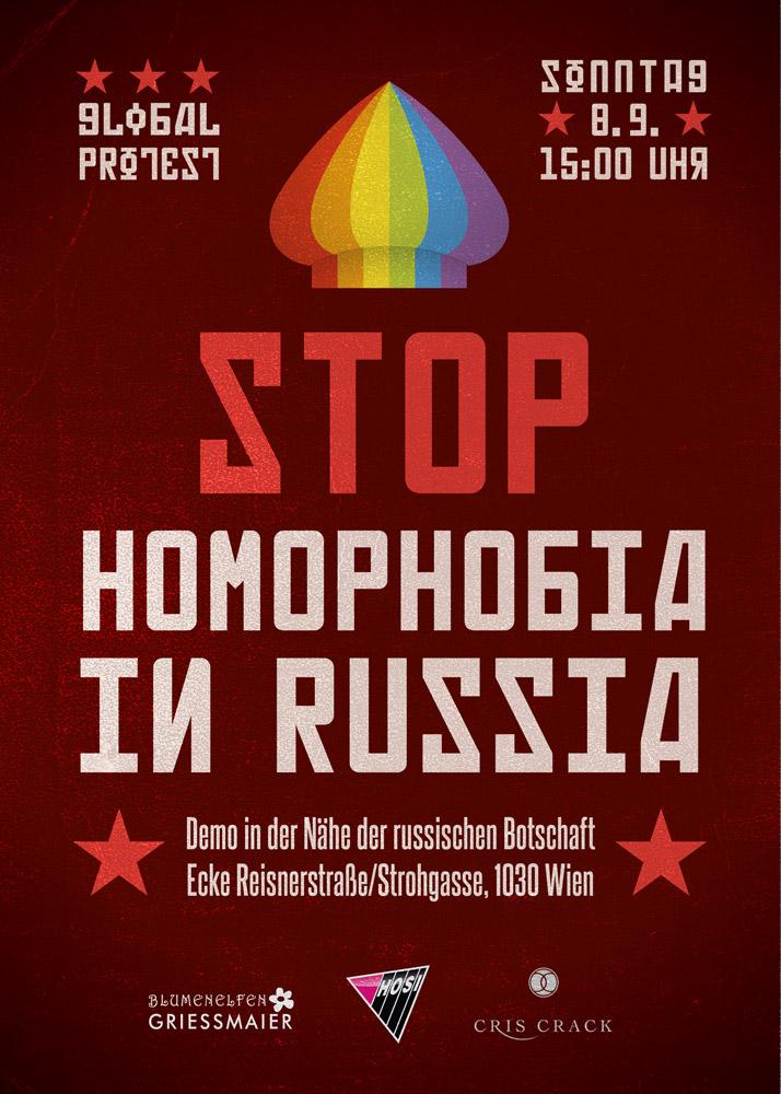 Stop Homophobie in Russia
