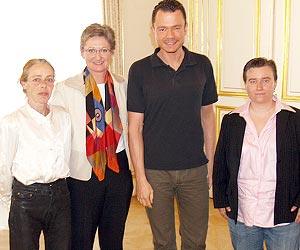 Besuch bei Ministerin Schmied