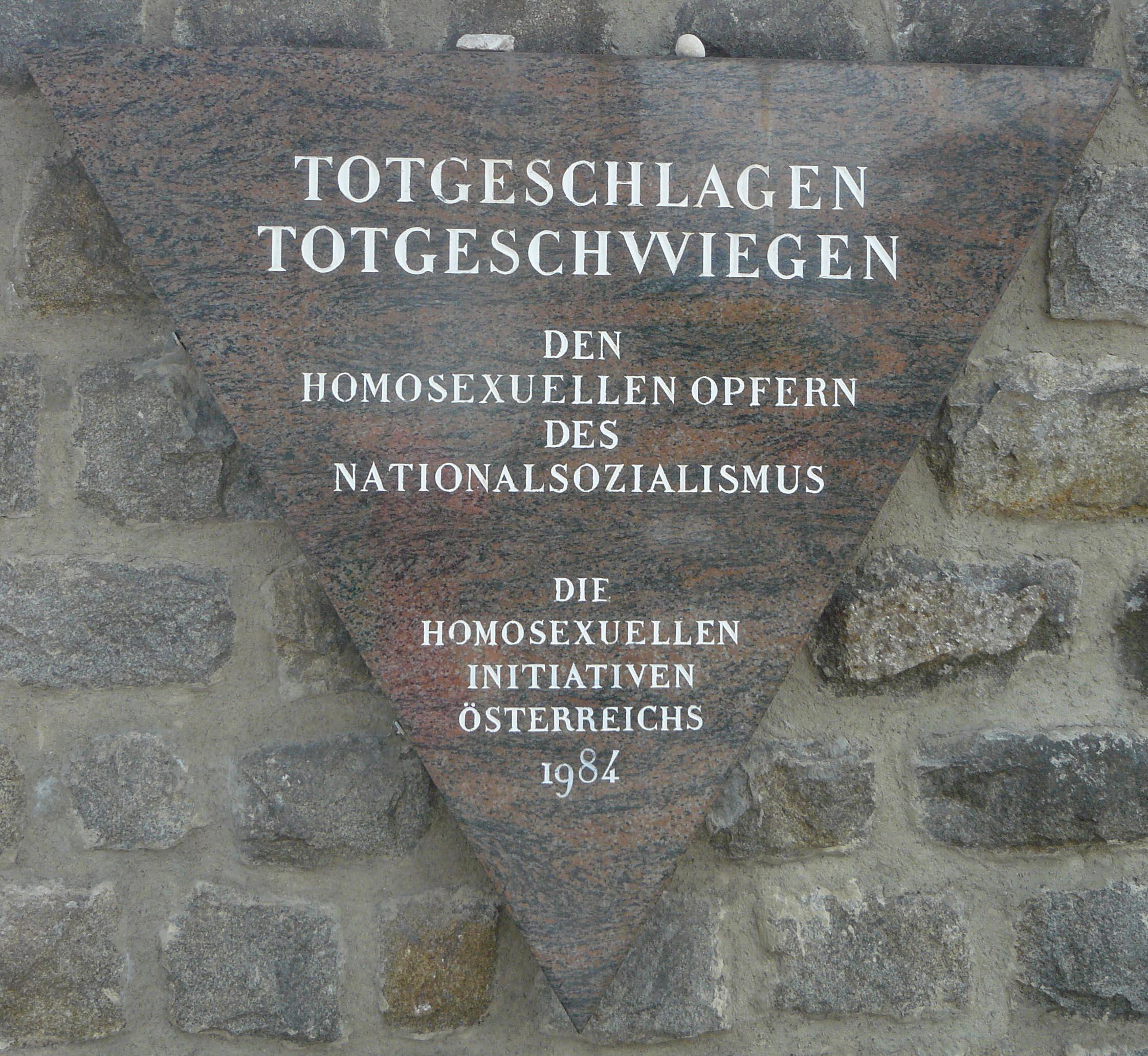 Gedenktafel KZ Mauthausen