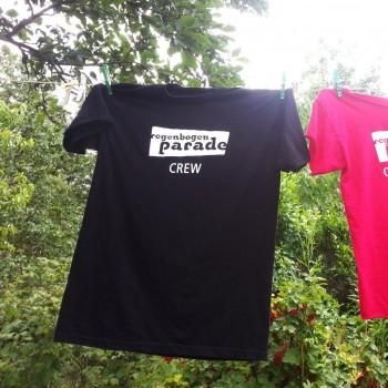 Mitarbeit Shirt Regenbogenparade