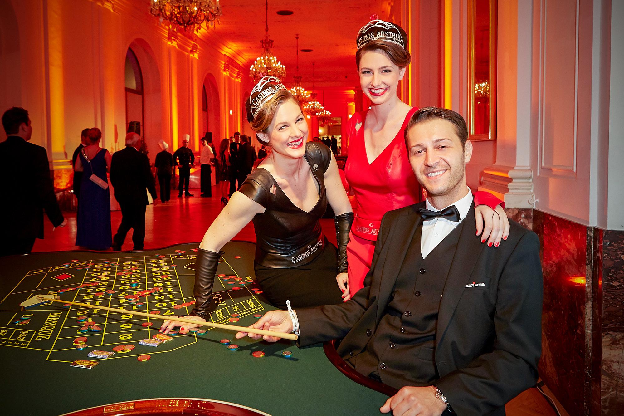 Mobiles Casino am Regenbogenball