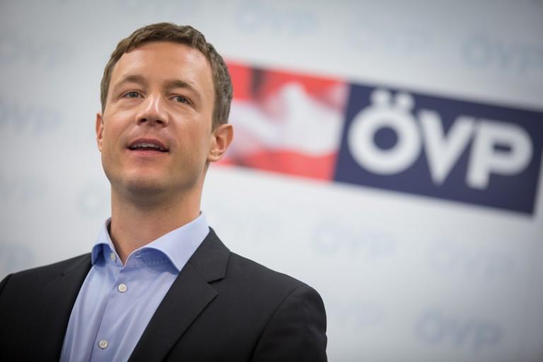 Gernot Blümel bringt die Wiener Stadtpartei auf strammen Rechtskurs. (Foto: ÖVP Wien)