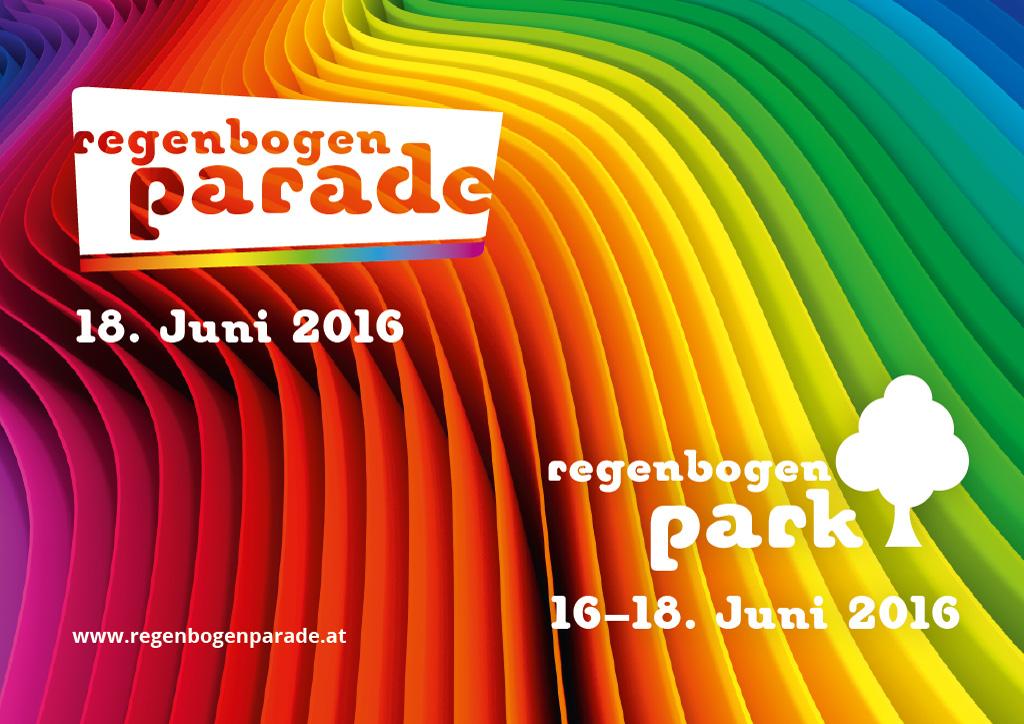 Regenbogenparade & Regenbogenpark 2016