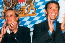 Jörg Haider und Ehefrau Claudia