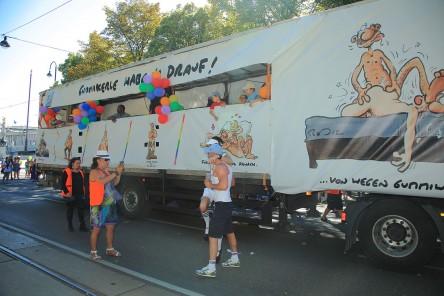 Regenbogenparade 2012: Beitrag Aids Hilfe