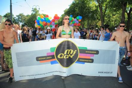 Regenbogenparade 2012: Beitrag MiGaY