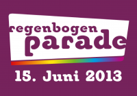 Regenbogenparade 2013 Logo