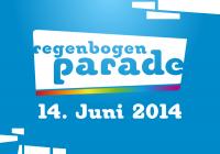 Regenbogenparade 2014 Logo